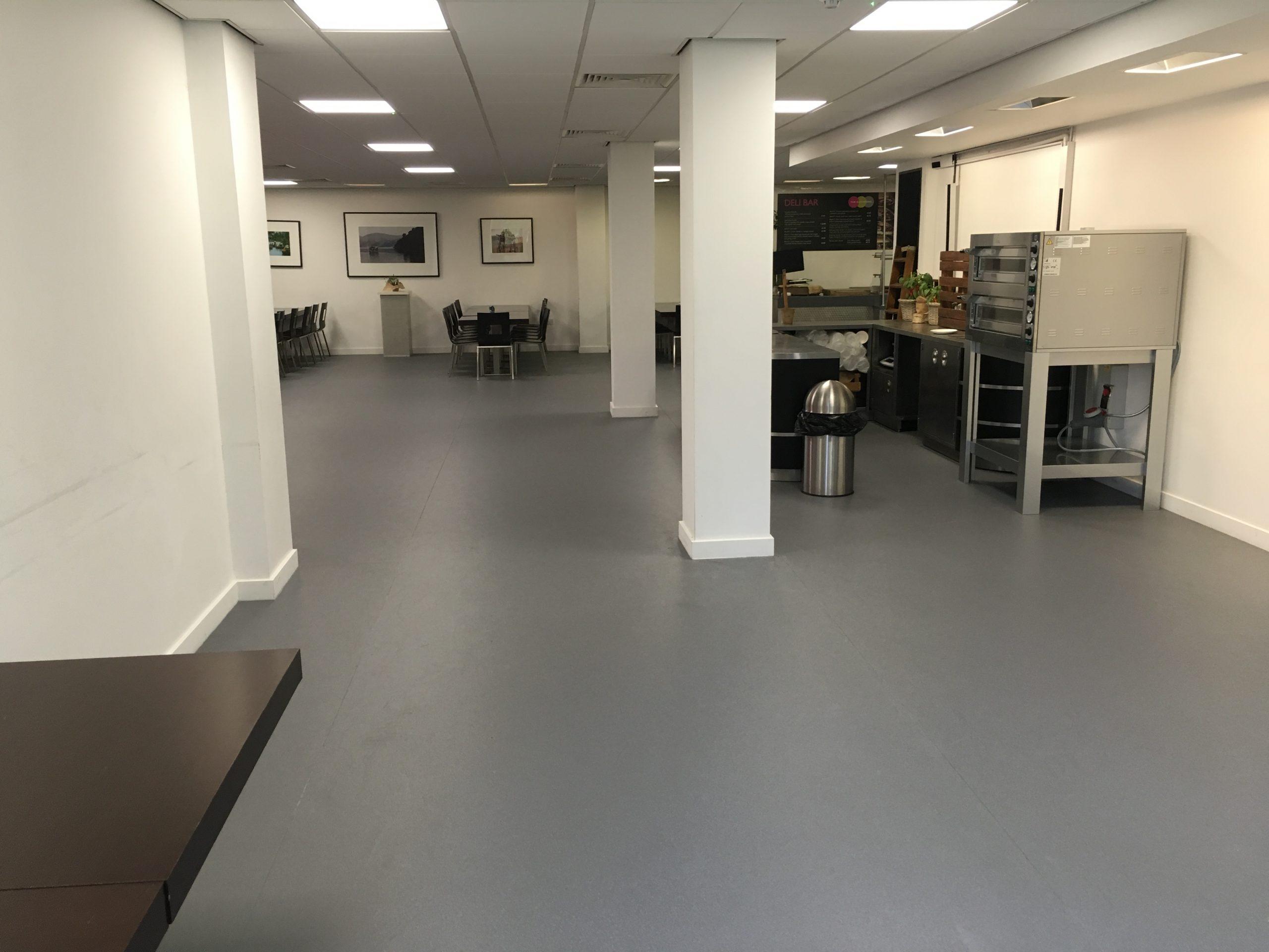 Commercial Flooring Install